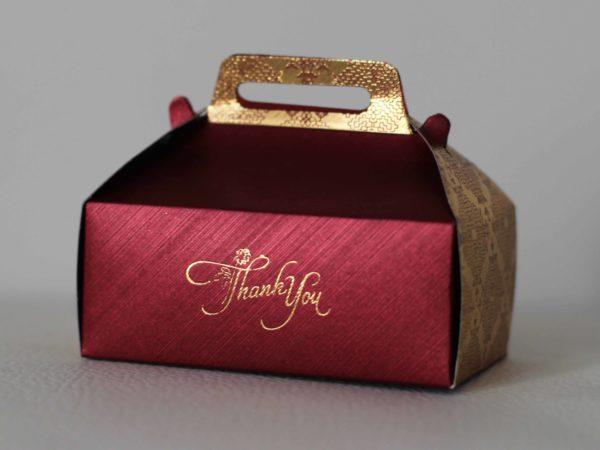 Cake Box red
