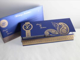 Muslim wedding Cards Blue_05