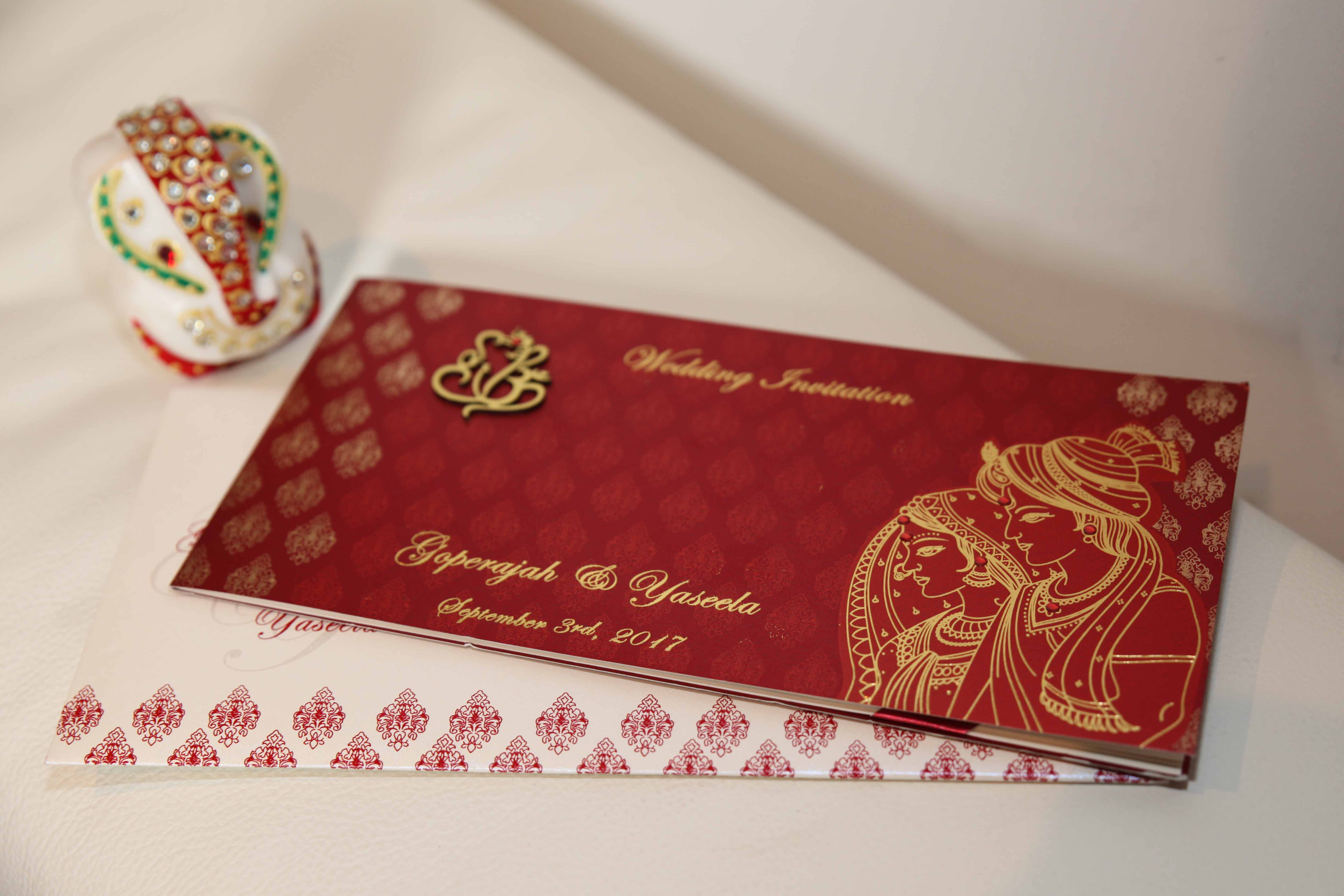 Tamil Hindu Wedding Cards