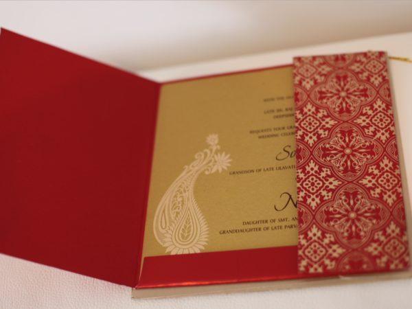 Hindu wedding Cards Red_Card