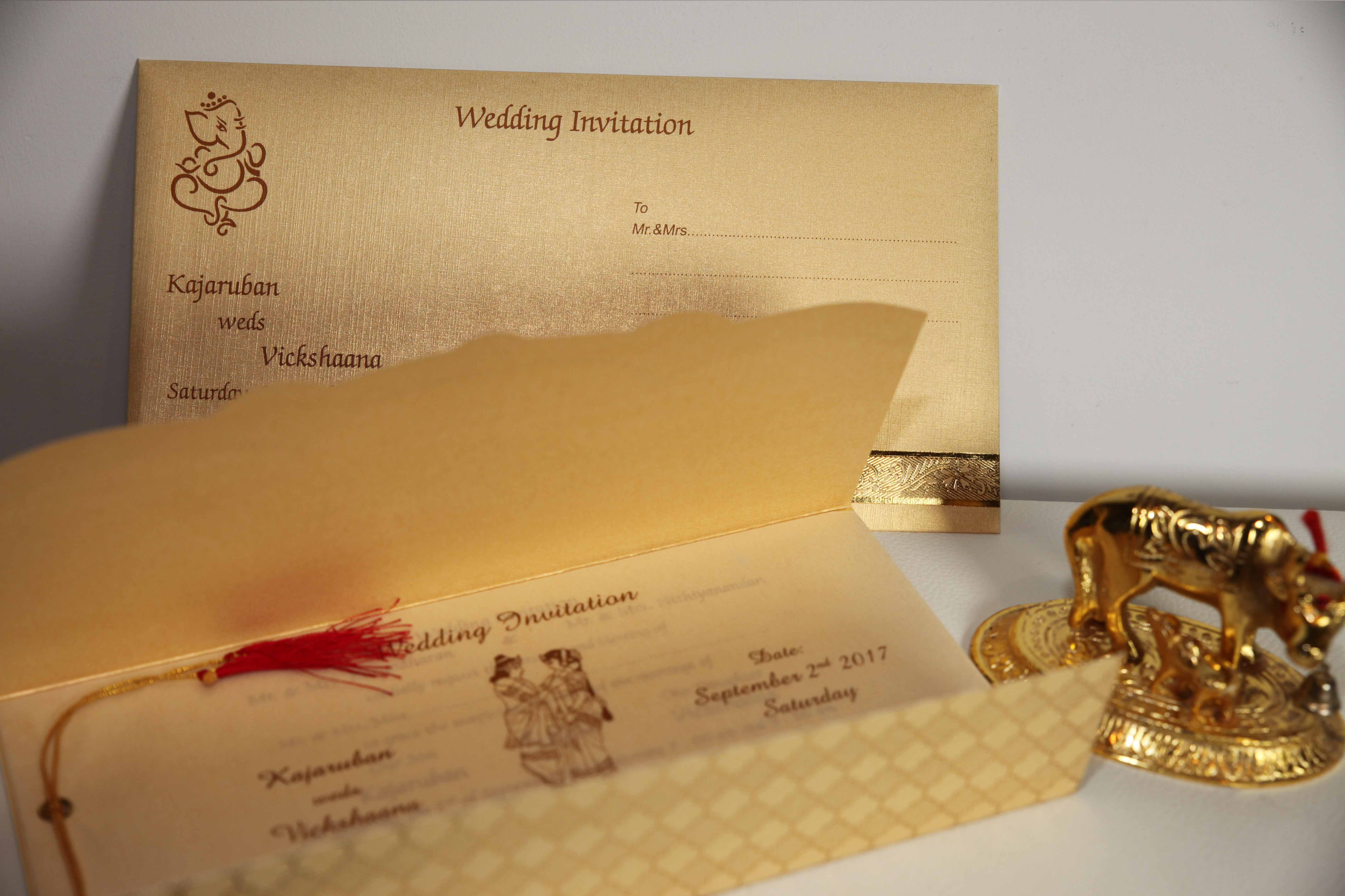 Hindu Wedding Invitation Card: Indian Tamil Wedding Cards Is A Well Known Brand In The UK