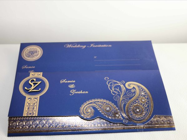 Muslim wedding Cards Blue_03