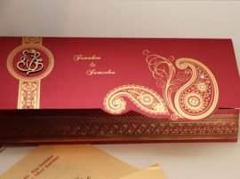 Hindu wedding Cards Red-01