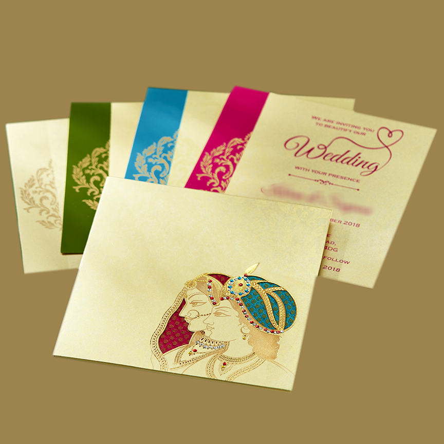 Traditional Indian Wedding Invitations For Cheap Prices And